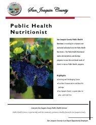 Public Health Nutritionist - JobAps