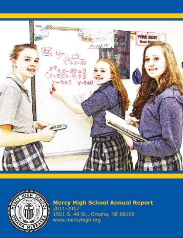 2011-12 Annual Report - Mercy High School