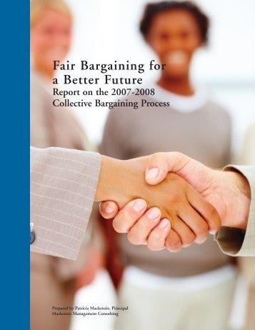 Fair Bargaining for a Better Future Report - Alberta School Boards ...