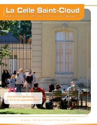 Journées du patrimoine le 15 et 16 septembre 2012