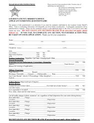 the APPLICANT SCREENING QUESTIONNAIRE - JobAps