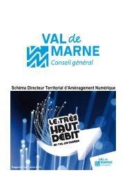 Schéma Directeur Territorial d'Aménagement Numérique du ... - Arcep
