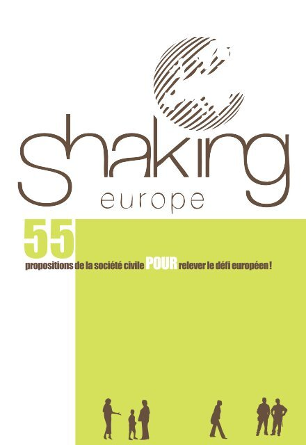 Shaking Europe - 2010 - 55 propositions de la société civile ... - FGF
