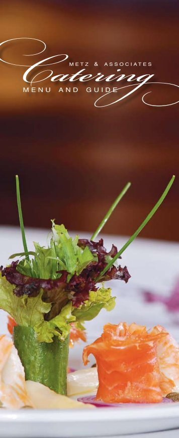 Upscale Catering Guide