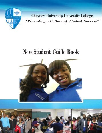 New Student Guide Book - Cheyney University of Pennsylvania