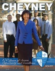 Premiere Issue - Cheyney University of Pennsylvania