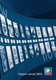 Téléchargez le rapport annuel 2012 - Kinepolis Group