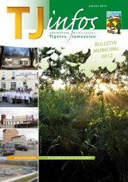 Bulletin de janvier 2012 - site mairie Tignieu-Jameyzieu