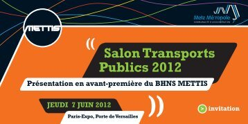 Salon Transports Publics 2012