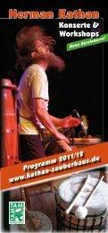 Das vollständige Kursprogramm als  PDF zum Nachlesen und
