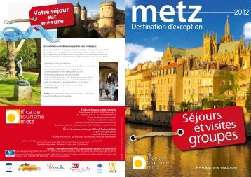 Brochure PDF 2012 - Office du tourisme de Metz