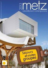 Brochure PDF 2013 - Office du tourisme de Metz