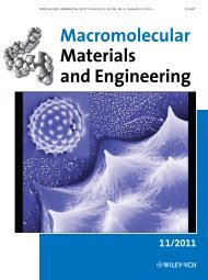 Pollen: A Novel, Biorenewable Filler for Polymer ... - Meredith Group
