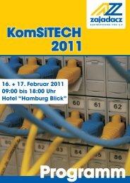 Einladung KomSiTECH 2011 - Zajadacz