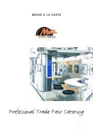 Professional Trade Fair Catering - Felix Bartsch