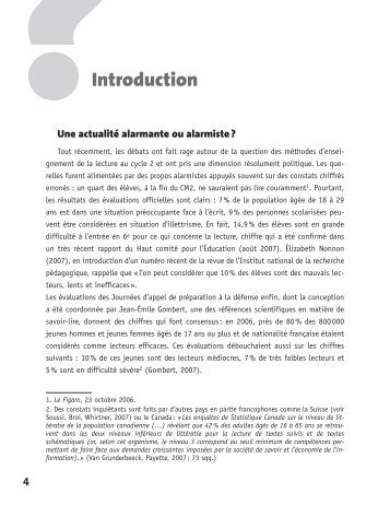 Introduction - Centre académique de ressources sur la maîtrise des ...