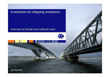 Inventories for shipping emissions - EFCA