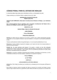 código penal para el estado de hidalgo - El Lugar de la Luna en Línea