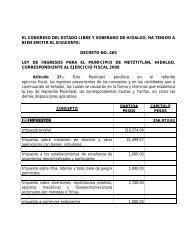 decreto no. 465 ley de ingresos para e