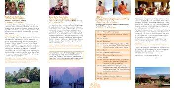 Yogareisen und Kurse in Indien - Yoga Vidya