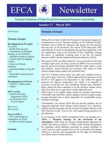 EFCA Newsletter nr 17