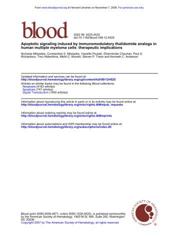 Blood. 2002 Jun 15;99(12):4525-30 - Dr. Treon