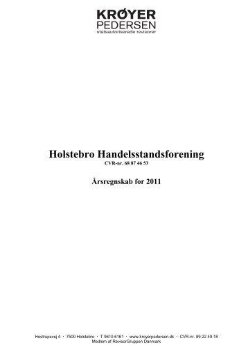 Årsregnskab for 2011 - Holstebro Handelsstandsforening
