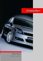 Opel Astra - Irmscher