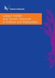Labour market and human resources in Kraków and Małopolska