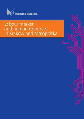 Labour market and human resources in Kraków and Małopolska