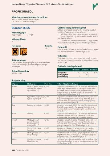 Bumper 25 Ec PROPicOnAzOl - Middeldatabasen