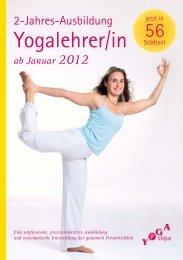 ab Januar 2012 - Yoga Vidya
