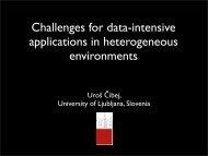 Challenges of data-intensive computation in heterogeneous ...