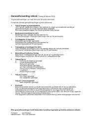Generalforsamling 28. februar - Toreby Sejlklub