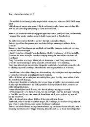 Bestyrelsens beretning 2012 I forhold til de to ... - Toreby Sejlklub