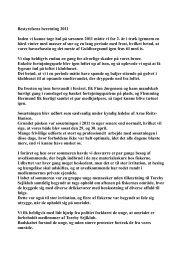 Bestyrelsens beretning 2011 Inden vi kunne tage ... - Toreby Sejlklub