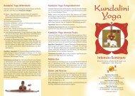 Ein Kundalini Yoga Seminar - Yoga Vidya