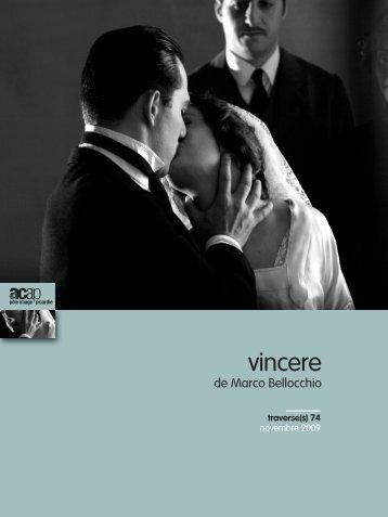 """Novembre - n°74 : """"Vincere"""" - ACAP • Cinéma • Pôle Image Picardie"""