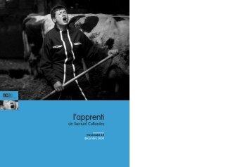 """Décembre - n°64 : """"L'Apprenti"""" - ACAP • Cinéma • Pôle Image Picardie"""