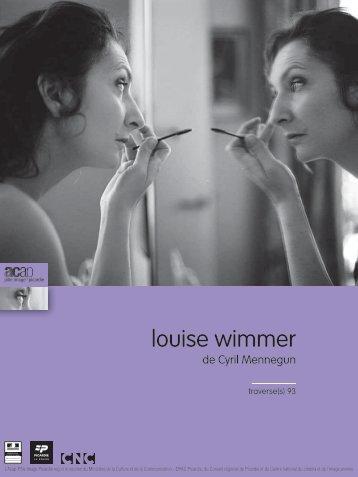 """n°93 : """"Louise Wimmer"""" - ACAP • Cinéma • Pôle Image Picardie"""