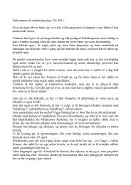 Velkommen til standerhejsning i TS 2006 - Toreby Sejlklub