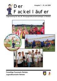 Ausgabe 7 - Zeltlager 2008 in Rehden