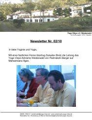 Newsletter Nr. 02/10 - Yoga Vidya