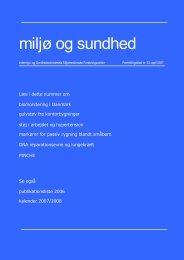 Miljø og sundhed nr. 33, april 2007 (PDF 1,3MB)