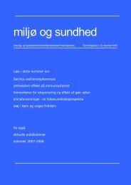 Miljø og sundhed nr. 32, december 2006 (PDF 429KB)