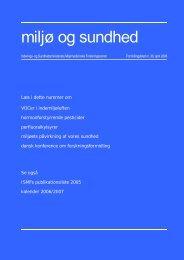 Miljø og sundhed nr. 30, april 2006 (PDF 1,0MB)