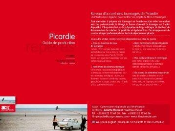 """""""Guide de production - Picardie"""" - 3e édition - ACAP • Cinéma • Pôle ..."""