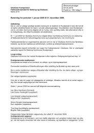 3. Bilag 3: Huslejenævnets beretning 2006-2009 - Gladsaxe ...