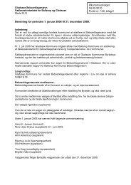 2. Bilag 2: Beboerklagenævnets beretning 2006-2009 - Gladsaxe ...