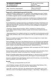 Notat Busdrift og Tilgængelighed.pdf - Gladsaxe Kommune